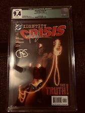 https://www.ebay.com/itm/IDENTITY-CRISIS-4-CGC-SS-9-4-MICHAEL-TURNER-COVER-Signe