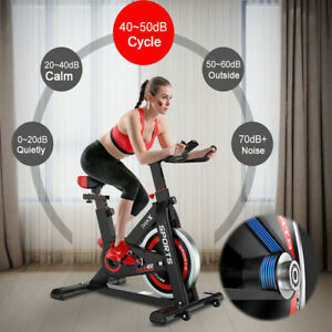 Exercise Bike Home Gym Indoor Cycling Bicycle Sports Cross Trainer Seat and LCD