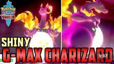6IV Shiny Gmax Charizard With GOLDEN Bottle Cap Pokemon Sword/Shield