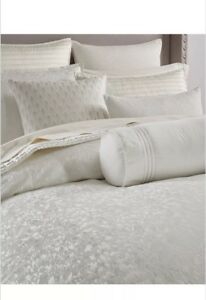Hotel Collection Plume QUEEN Duvet Cover. Very Pretty! Brand New!