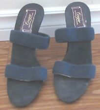 Vintage 1970's Blue Cougar Shoes Made in Canada