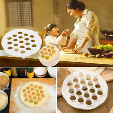 Dumpling DIY Mante Ravioli Pierogi Pelmeni Mold Maker Kitchen Dough Press Cutter