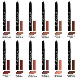 NYX Lingerie Push-Up Long-Lasting Lipstick ~ Choose Your Shade