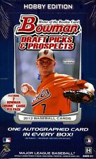2012 Bowman Draft Picks & Prospects Baseball Brand New Factory Sealed Hobby Box