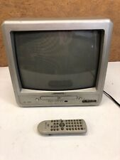 "MAGNAVOX MWC 13D6 13"" COLOR TV/ DVD COMBO & Front Inputs For Gaming with Remote"