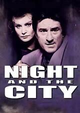 NIGHT AND THE CITY Movie POSTER 27x40 UK Robert De Niro Jessica Lange Cliff