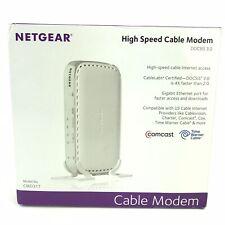 NETGEAR High Speed Cable Modem CMD31T-100NAS Up to150 Mbps Gigabit Ethernet Port