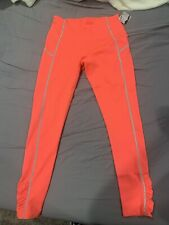 NWT Free People Movement You're A Peach High Waist Leggings Coral Size M $98