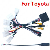 Car 16pin Wire Harness Power Cable With Canbus For Toyota Corolla Levin Camry