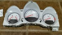 DODGE CARAVAN 08 caravan Speedometer  3 pod cluster, white face dials, w/o info