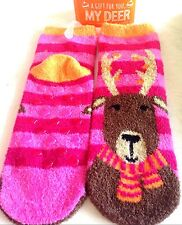 Bath & Body Works Shea-Infused Lounge Socks A Gift For You My Deer