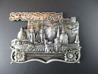Salzburgo Austria Recuerdo Metal Imán Austria, Nuevo