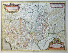 MERCATOR HONDIUS ITALIEN ITALY PIEMONT MONTISFERRATI DUCATUS MONTFERRAT 1633
