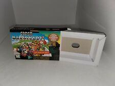 """Super Mario Kart Official SNES """"For Display Only"""" BOX W/Cardboard Insert(NOGAME)"""