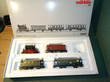 Märklin 26559 Nebenbahn-Personenzug Ep. III mit Glaskasten / mfx / NEUWERTIG