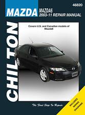 Chilton 46820 Service/Shop/Repair Manual Mazda6 2004-2011