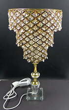 3 Layers Chandelier Crystal Table Lamp/Round  JYC109A