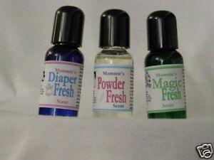Adult Baby MommiesScents 3 bottles Sample Set
