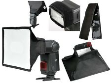 Softbox For Nikon SB900 SB800 Canon 580EXII Flash SpeedLight 30*20cm Softbox