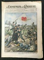 DOMENICA DEL CORRIERE - Italian Newspaper with WWI / WW1 Illustrations  Aug 1915