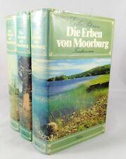3x Moorburg Trilogie (gebundene Ausgaben) - Bücherpaket Sammlung Erika Petersen