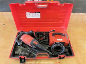 "2017 Hilti DG150 6"" Concrete Mortar Tile Electric Grinder Grinding Tool bidadoo"