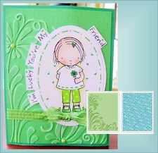 Sizzix Embossing Folders Flowers & Flourish embossing folder set 656978 border