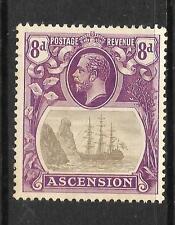ASCENSION ISLAND  1924-33  8d   SHIP    MLH     SG 17