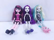 Mattel Monster High Doll 11'' Fully Dress+Shoes+Accessories-Lot of 3