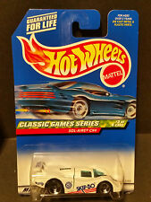 1997 Hot Wheels #983 Classic Games Series 3/4 :Sol-Aire Cx4 - 21331 Skip-Bo