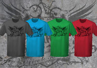 Mountain Bike T-shirt - live to ride print - wicking, performance top, sports