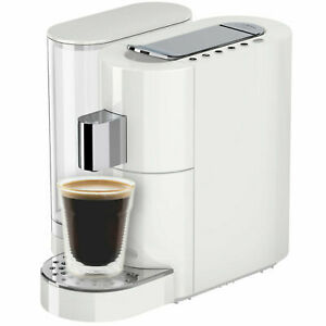 K-fee Twins II Multi-Beverage Capsule Machine White Chrome Compatible with ALDI