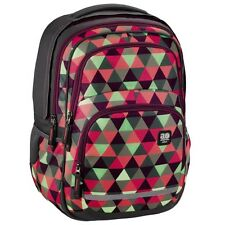 """HAMA All Out """"Blaby"""" mehrfarbig Rucksack Schulrucksack, Happy Triangle"""