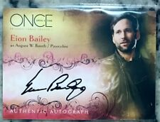 Eion Bailey Autograph Auto Card Once Upon A Time as August / Pinocchio  A5