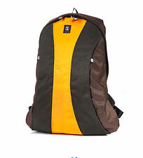 Crumpler YR-12A The Yee-Ross Backpack for 14 inch Laptop(brown/gunmetal/orange)
