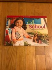 """American Girl """"Doll School"""" Design A Day Of Learning & Play Book Kit New Unused"""