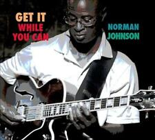 NORMAN JOHNSON - GET IT WHILE YOU CAN [DIGIPAK] NEW CD
