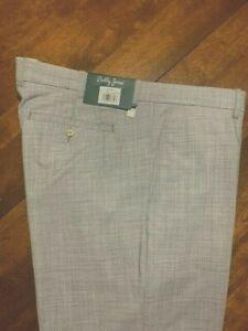 NWT Bobby Jones Wool Blend Golf Pants  - Size 40/32 - Grey - Sharp!