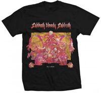 BLACK SABBATH T-Shirt Sabbath Bloody Sabbath Ozzy New Authentic Metal S-XXL