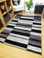 Brown Red Grey Modern Style Soft Thick Runner Rug Small Extra Large Mat Cheap