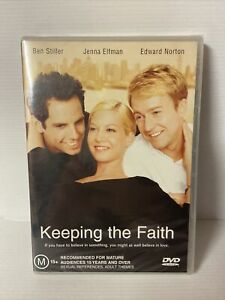 """Keeping The Faith (DVD) Region 4 """"NEW AND SEALED"""""""