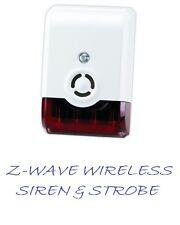 VISION Z-WAVE SIREN AND STROBE