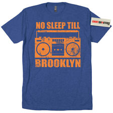 No Sleep Till Brooklyn Beastie Boys Old School Skool hip hop boombox rap t shirt