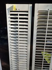 "30"" X 71-3/8"" Anderson Plantation Shutters, White, Wood Excellent Conditon."