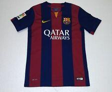 cb92ef00736 2014 FC BARCELONA NIKE YM 10 LEO MESSI ESPAñA SPAIN JERSEY young WOMAN xs s  m l
