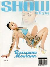THE ART OF SEXY by SHOW MAGAZINE FEBRUARY MARCH 2014 ROXXANNE MONTANA
