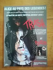 Photo revue Best années 90 promotion - Alice Cooper - Trash Poison