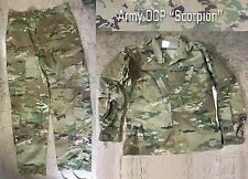 US Army OCP ACU Scorpion W2 Combat Uniform camouflage Jacke Hose SL Small Long