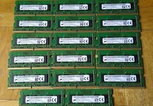 Lot of 17 4GB 1Rx16 PC4-3200 Ram all from working HP laptops. Free UK postage