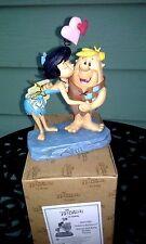 """Flintstones """" Rubble Romance """" Barney & Betty Figurine By Jim Shore 4051595 New"""